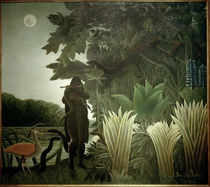 H.Rousseau, The Snake Charmer / 1907 by AKG  Images