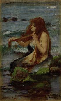J.W.Waterhouse, A Mermaid, 1892 by AKG  Images