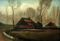 v. Gogh / Farmhouse after the Rain / 1883 by AKG  Images