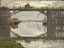 Monet / The wooden bridge / 1872 by AKG  Images