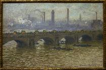 Monet / Waterloo Bridge / 1899/1901 by AKG  Images