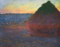 Monet / Haystack / 1890/1891 by AKG  Images
