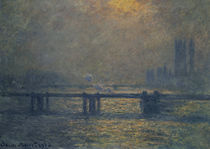 Monet / Charing Cross Bridge / 1899/1901 by AKG  Images