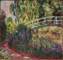 Claude Monet, The Japanese Bridge by AKG  Images