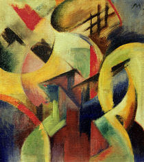 Franz Marc / Small composition I / 1913 by AKG  Images