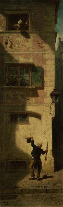 Spitzweg / Street Musician begging, 1884 by AKG  Images