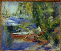 A.Renoir, Am Ufer eines Flußlaufes von AKG  Images