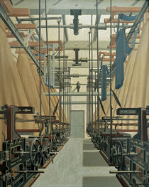 Carl Grossberg / Jacquard Weaving Mill/Ptg by AKG  Images