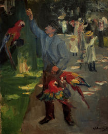 Liebermann / Male Parrot / 1902 by AKG  Images