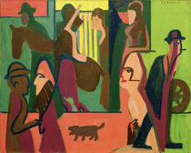 Ernst Ludwig Kirchner, Street at Twilight by AKG  Images