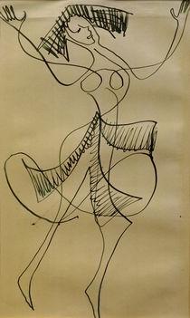 E.L.Kirchner, Ekstatische Tänzerin von AKG  Images