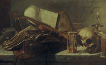 Rembrandt (circle of), still life, books by AKG  Images