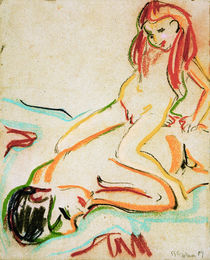 E.L.Kirchner / Reclining Male Nude.... by AKG  Images