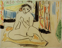 E.L.Kirchner / Female Nude with Mirror by AKG  Images