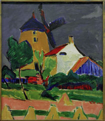 E.L.Kirchner / The Windmill... by AKG  Images
