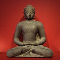 Buddha Amitabha / Stein, indonesisch von AKG  Images