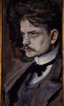 Sibelius / Watercol. / Gallen-Kallela/ 1894 by AKG  Images