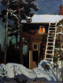 A.Gallen-Kallela, Kalela im Winter von AKG  Images