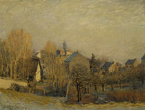A.Sisley / Frost in Louveciennes / 1873 by AKG  Images