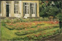 M.Liebermann, Blumenterrasse Wannseegart von AKG  Images