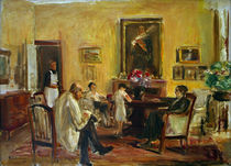 Max Liebermann / Family / Painting /1926 by AKG  Images