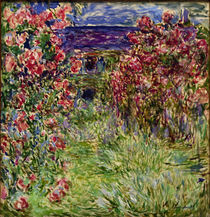 Monet / House in the roses / 1925 by AKG  Images