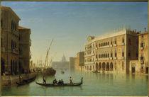 Venedig, Canal Grande / Gemälde von Carl Morgenstern von AKG  Images