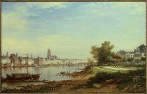 Frankfurt am Main / Gemälde von Carl Morgenstern by AKG  Images