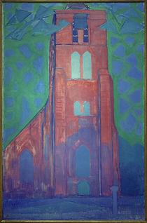 P.Mondrian, Zeeländischer Kirchturm von AKG  Images