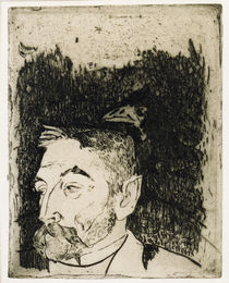Stéphane Mallarmé / Etching / Gauguin by AKG  Images