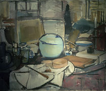 Still Life with Ginger Pot / P. Mondrian / Painting 1911 by AKG  Images