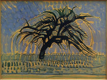 Piet Mondrian, Der blaue Baum von AKG  Images