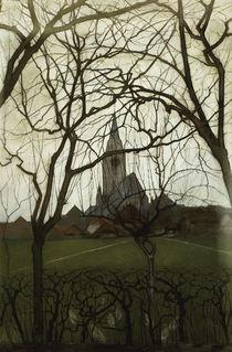 Piet Mondrian, Dorfkirche von AKG  Images