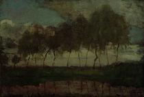 Mondrian, Das Gein: Bäume am Wasser von AKG  Images
