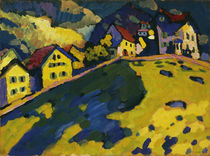 Kandinsky, Studie für Häuser am Hügel von AKG  Images