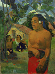 Gauguin / E Haere oe i hia / Painting by AKG  Images