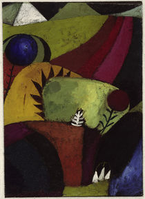 Klee, Paul / Glockenblumen / Gem. 1920 von AKG  Images