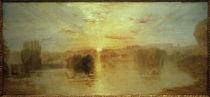 W.Turner, Der See, Petworth, Sonnenuntergang; Studie von AKG  Images