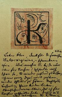Franz Marc, Exlibris Bernhard Koehler by AKG  Images