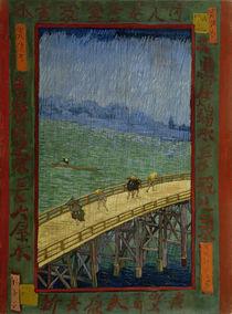 van Gogh nach Hiroshige, Brücke im Regen von AKG  Images