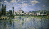 Monet / Vétheuil in the Summer, Painting by AKG  Images