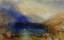 Zuger See / Aquarell v. W.Turner by AKG  Images