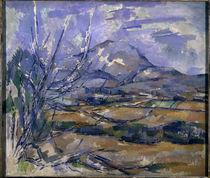 P.Cézanne, Montagne Sainte Victoire von AKG  Images