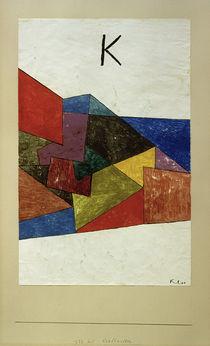 Paul Klee, Kraftwetter von AKG  Images