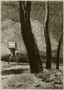 O. Redon, Der Spieler by AKG  Images