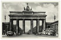 Berlin, Brandenburger Tor / Fotopostkarte, um 1939 by AKG  Images