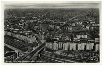 Berlin-Charlottenburg mit Lietzensee, Vogelschau / Fotopostkare, um 1935 by AKG  Images