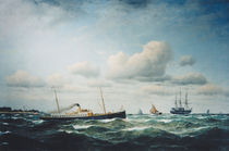Franz Hünten, Postdampfer Stephan von AKG  Images