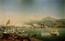 Battle of Navarino / Painting Garneray by AKG  Images