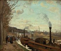 C.Pissarro, Die Seine bei Port-Marly von AKG  Images